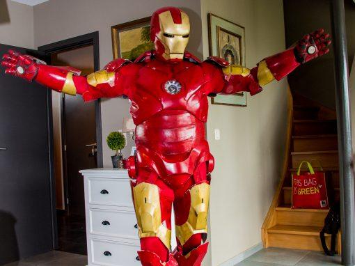 Alexandre a 3 ans avec Ironman !