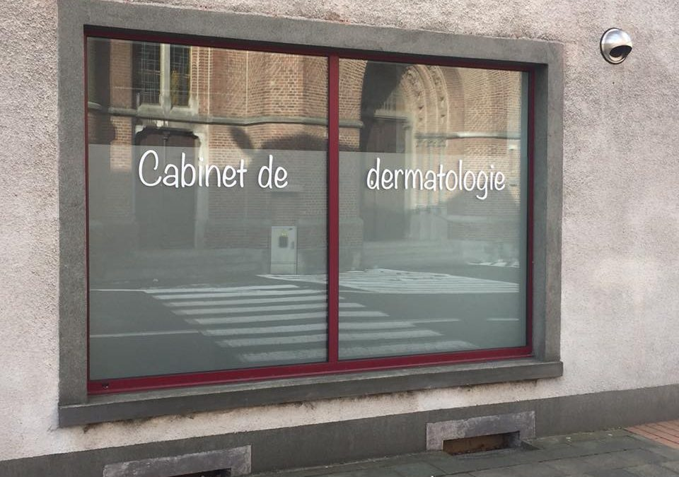Lettrage vitrine