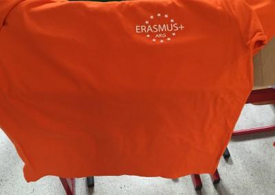 Pulls et T-shirts ERASMUS+
