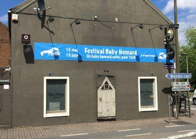 Bâches pour le festival du baby homard